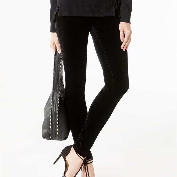 INC International Concepts Pants - INC Petite Velvet Skinny Pants